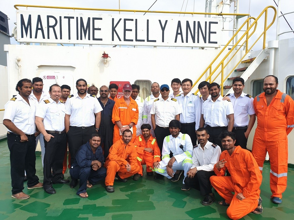 maritime kelly anne rescue mission team