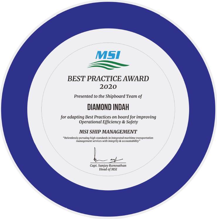 Winner of MSI Best Practice Campaign Award 2021